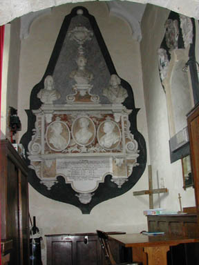Newman Monument at Fifehead Church