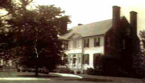 Francis and Lydia's first home in the USA: Le Grange Estate, Maryland